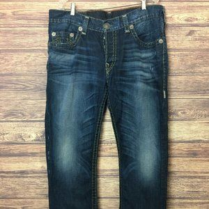 Men's True Religion Geno Super T Jeans Blue Wash